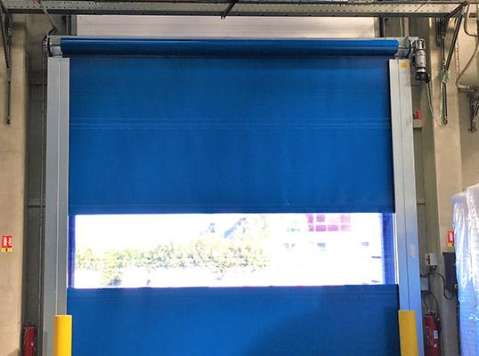 Porte souple rapide fenêtre
